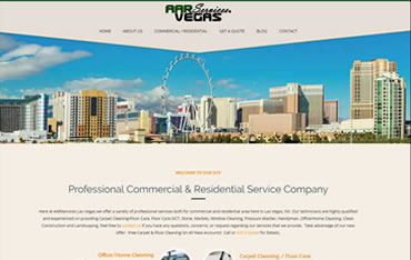 AARServices.Vegas - WebsiteCenter.com Website Design Portfolio