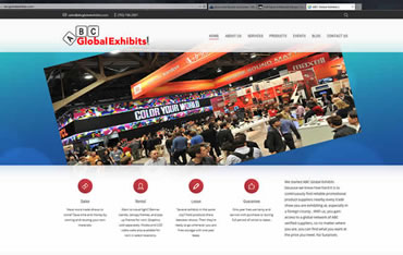 ABCGlobalExhibits.com - WebsiteCenter.com Website Design Portfolio