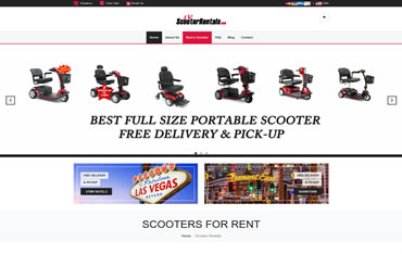 www.LVScooterRentals.com - WebsiteCenter.com Website Design Portfolio
