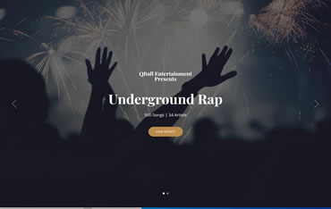www.QBallRap.com - WebsiteCenter.com Website Design Portfolio